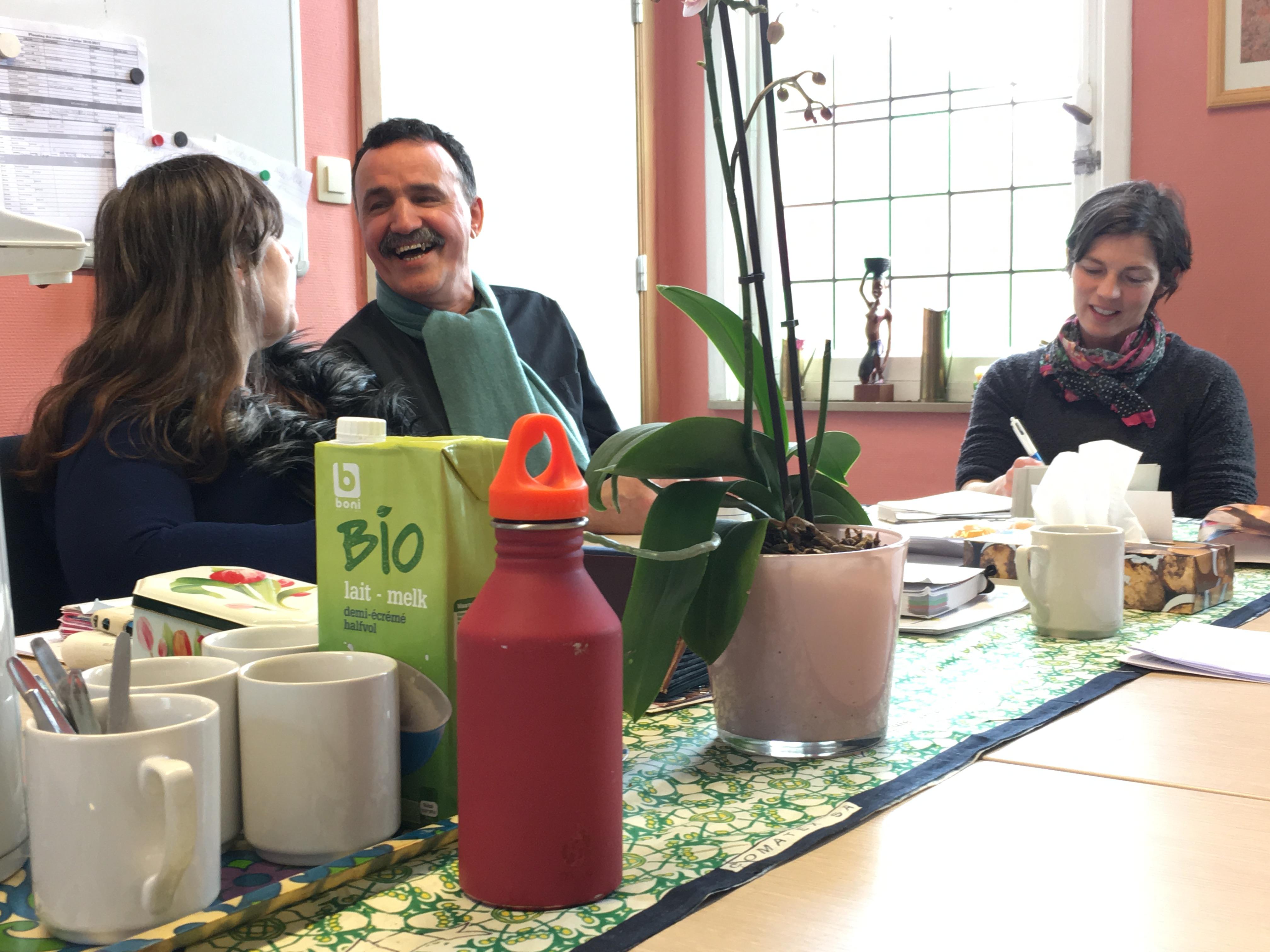 Une association de patients au coeur de la Maison médicale du Vieux Molenbeek